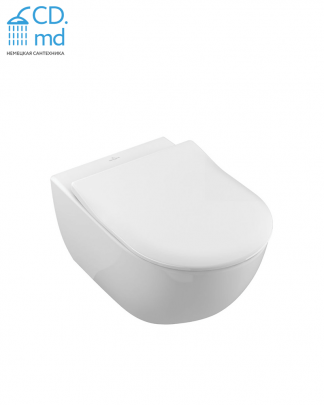 Унитаз подвесной Villeroy&Boch Subway 2.0 DirectFlush 5614R201 alpin